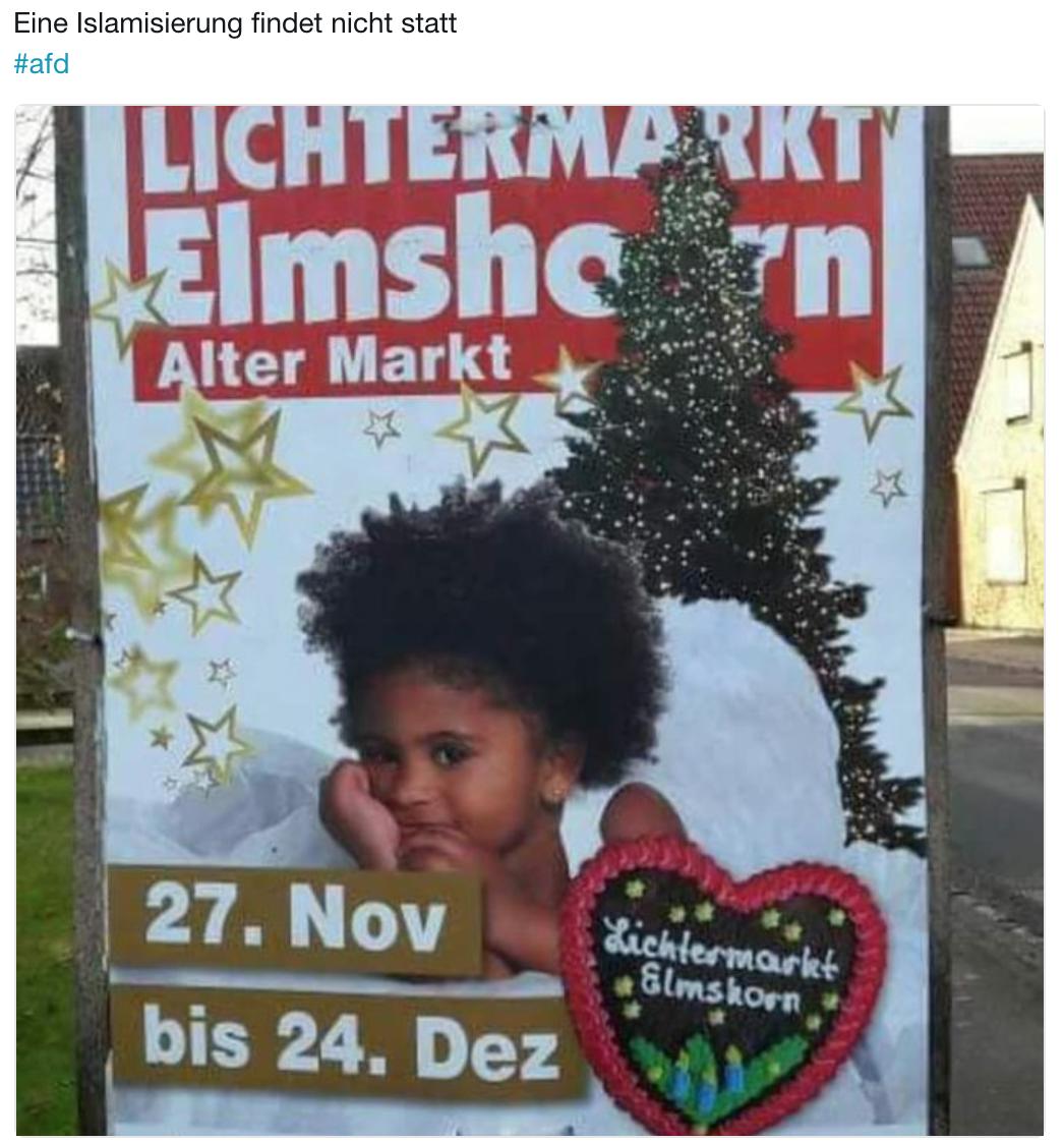 Weihnachtsmarkt Elmshorn.Wie Sowas Läuft Die Rechte Digital Kampagne Gegen Elmshorn